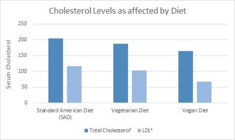 Cholesterol chart